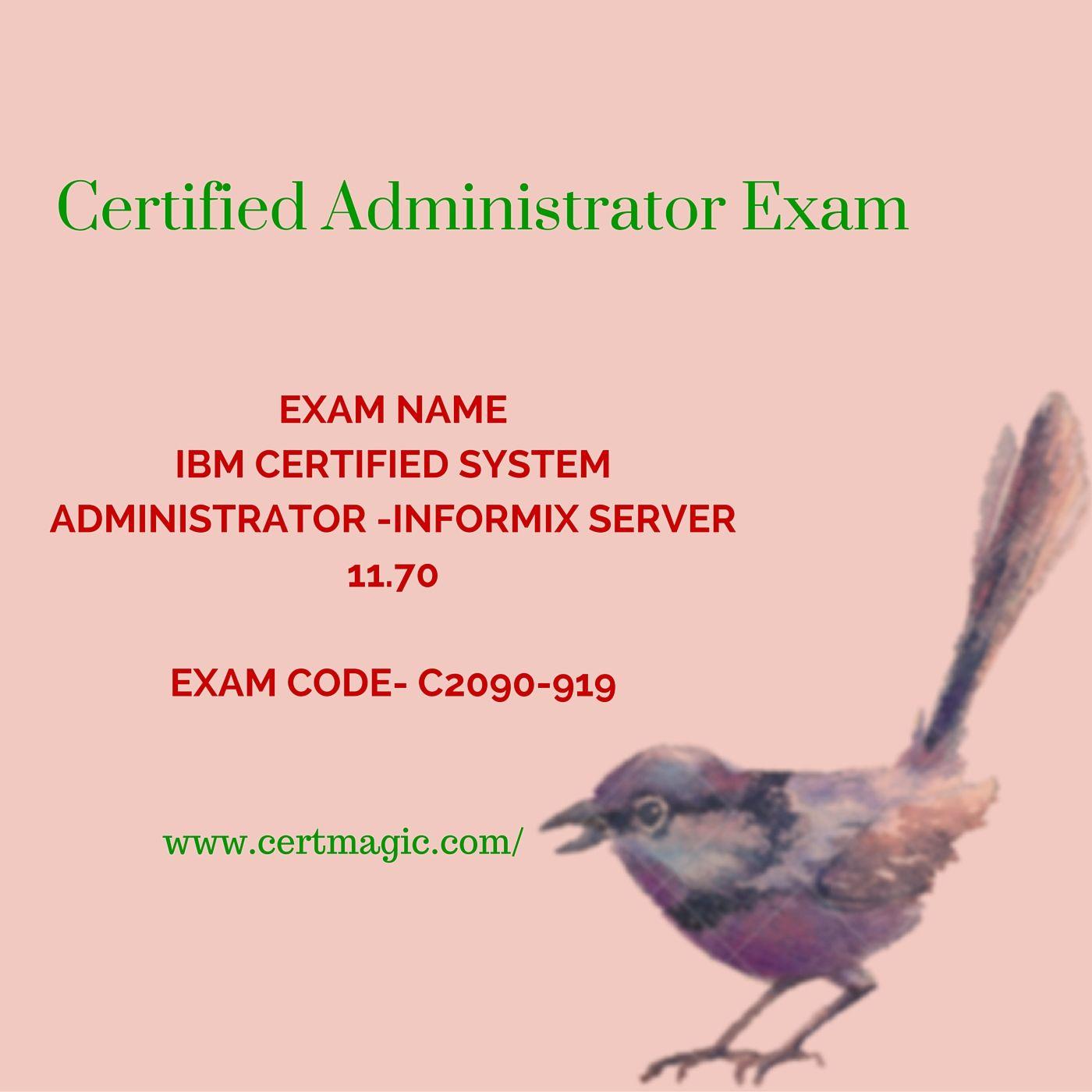 Exam Name Ibm Certified System Administrator Informix Server 1170
