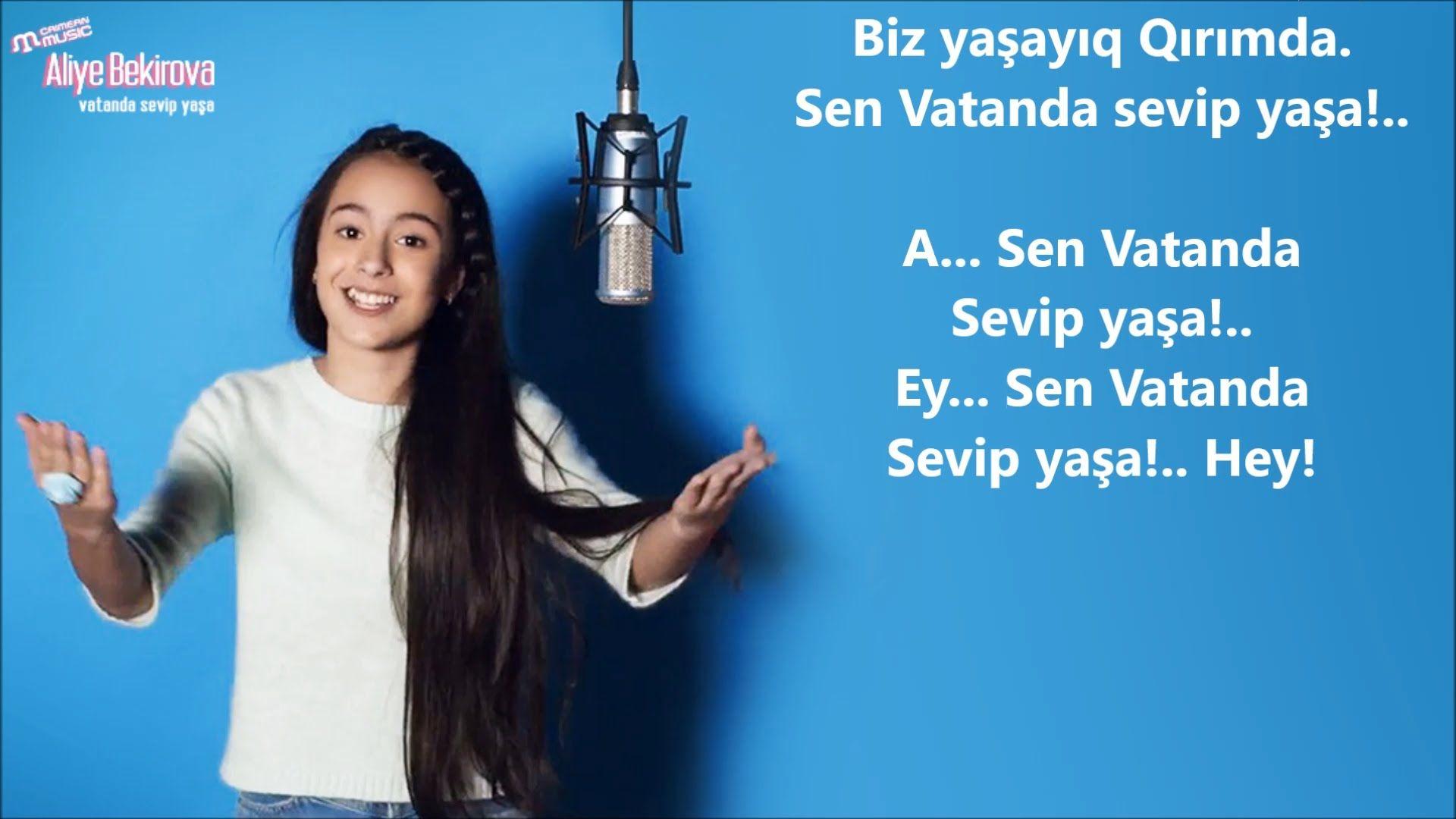 Aliye Bekirova Vatanda Sevip Yasa Lyrics Muzik Youtube Yastiklar