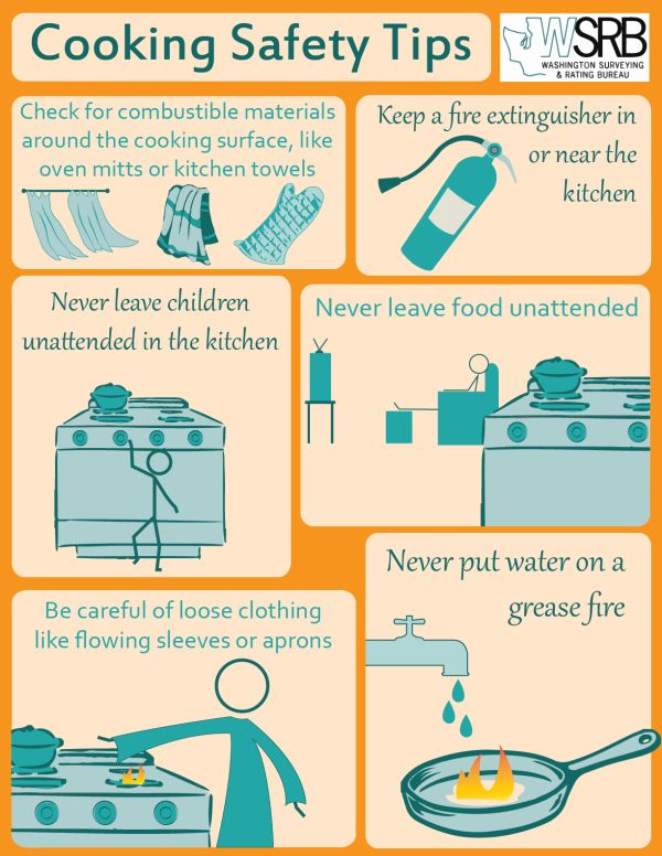 Cooking Safety Tips Safety Tips Cooking Tips