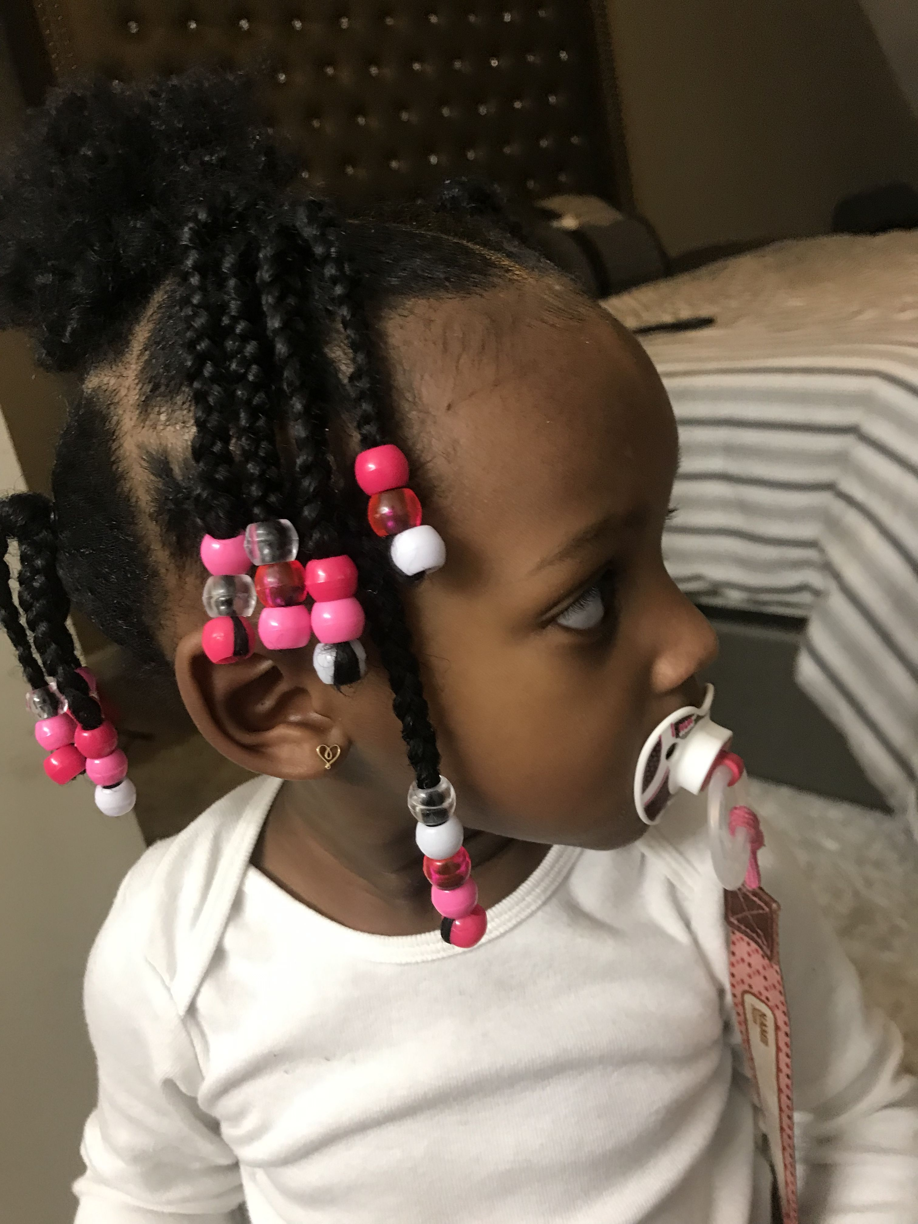 Hairstyles For 1 Year Old Baby Girl : hairstyles, Toddler, Braided, Hairstyles, Braids, Quick, Girls, Hairstyles,, Styles