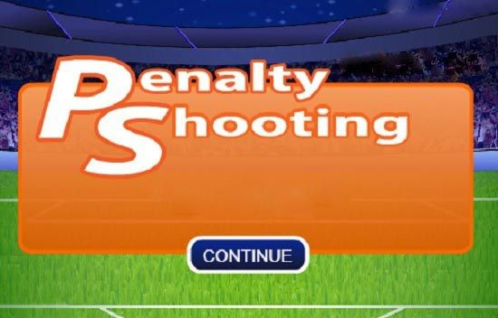 Play online penalty shootout game