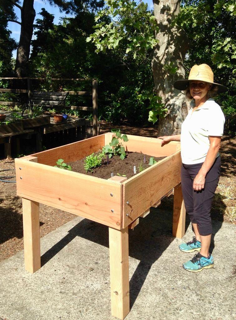 DIY Raised Bed Planter in 2020 | Raised garden beds diy ...