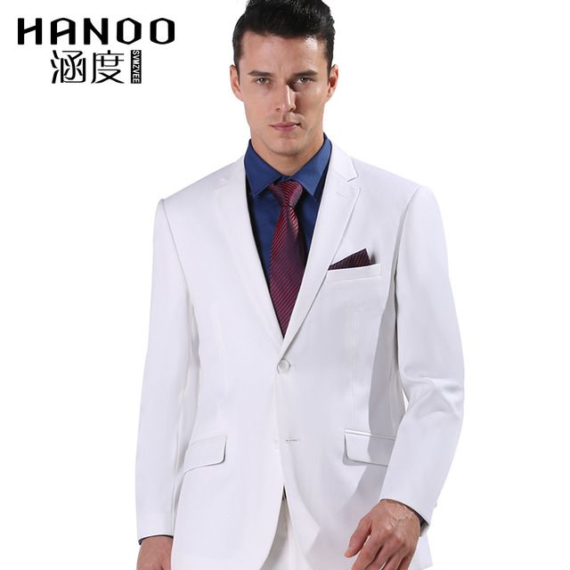 Mens-White-Suits-Jacket-Pants-Formal-Dress-Men-Suit-Set-men ...