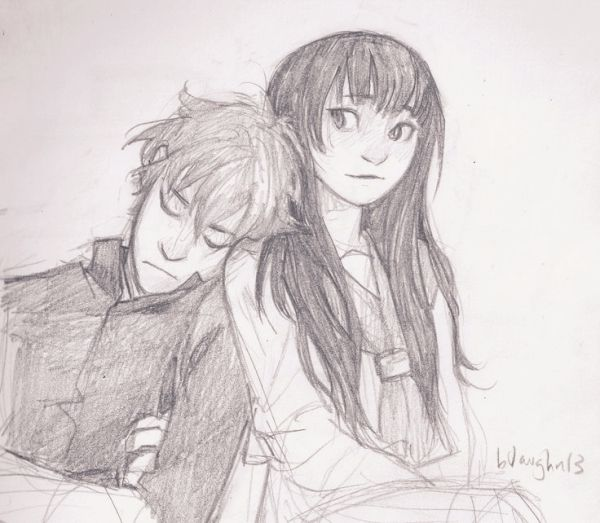Pencil Sketches Of Romantic Couple