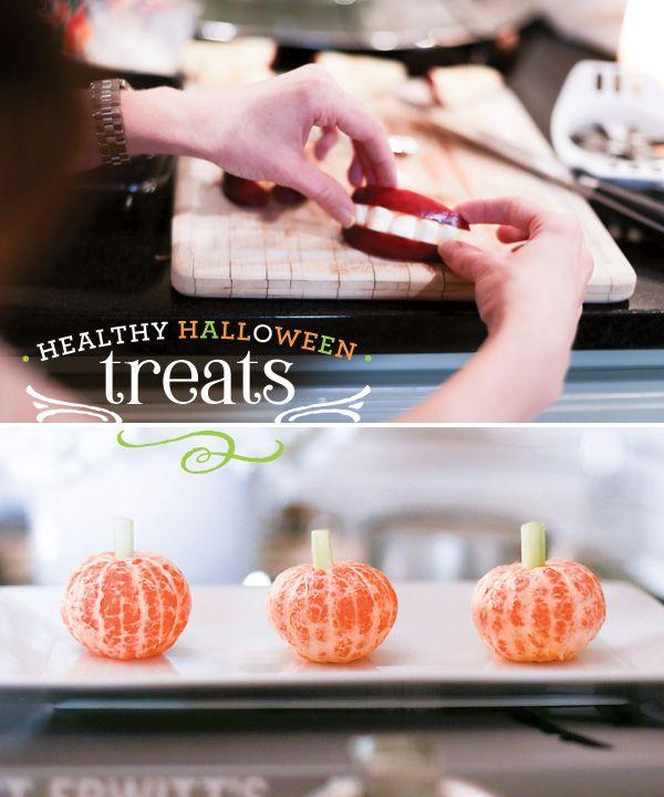 3 Healthier Halloween Treat Ideas {Cute  Easy Healthy halloween - cute easy halloween treat ideas