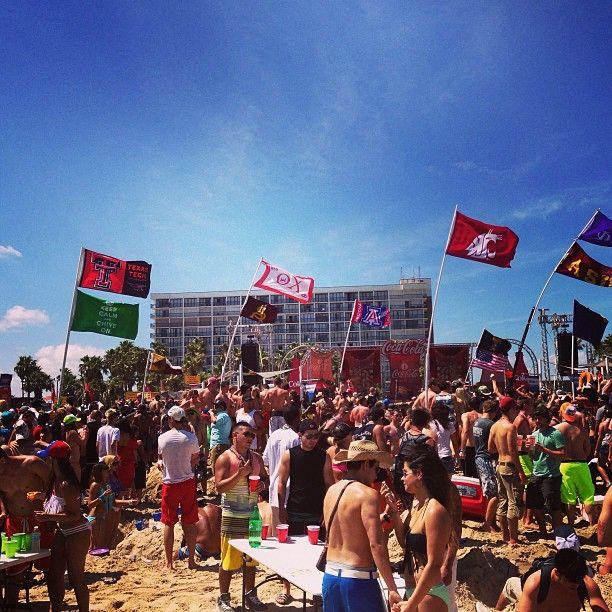 Coca Cola Beach Party South Padre Island Texas Springbreak Top Spring Break Destinations