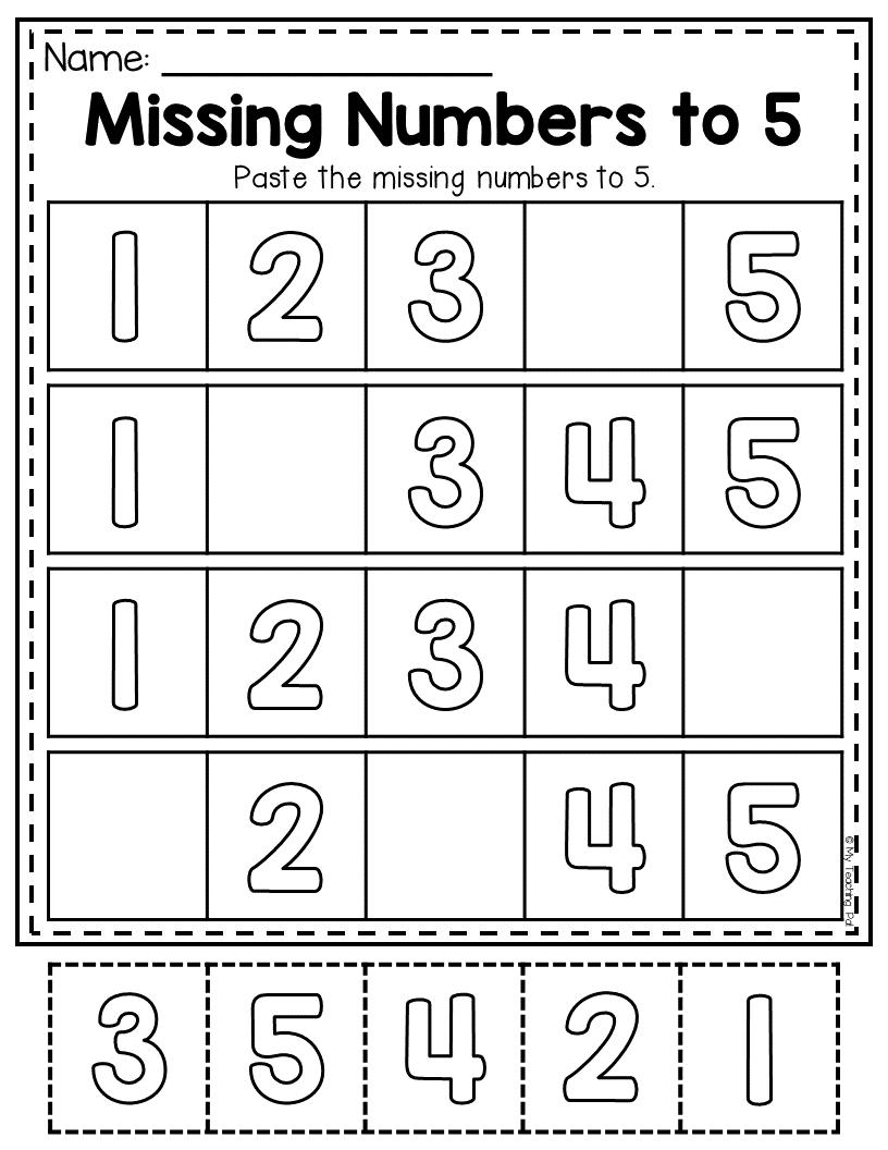 Preschool Worksheets Math And Literacy Learning Packet Distance Learning Preschool Math Worksheets Preschool Worksheets Numbers Preschool [ 1056 x 816 Pixel ]