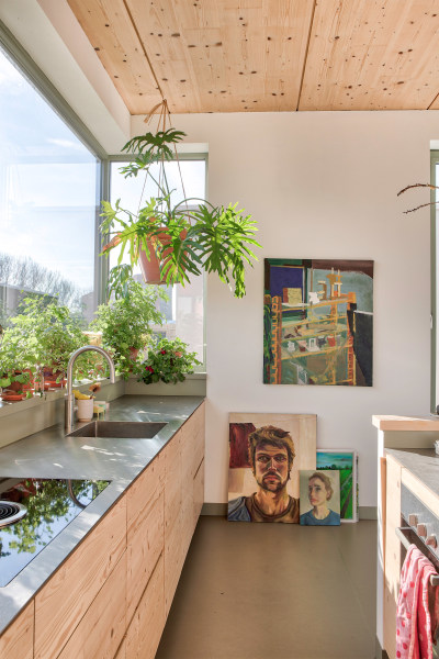 This Sustainable Home in the Netherlands Is a Designer's—and a Chicken's—Dream
