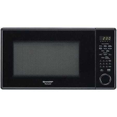 Sharp 1 3 Cu Ft Black Countertop Microwave Single 1 30 Ft Main Oven Electric Heat Source Main Countertop Microwave Countertop Microwave Oven Microwave