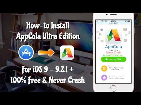 AppCola Ultra Edition For iOS 9 - 9 2 1/9 3: Install Appcola From
