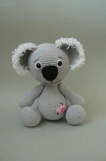 Koala Bear Crochet Pattern Pattern By Katka Reznickova 2 Love