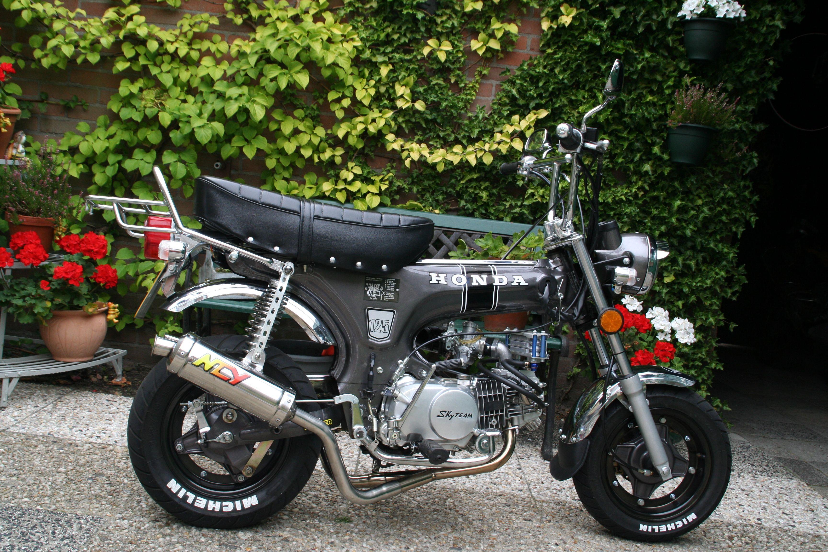 skyteam dax 125cc honda replica motos pinterest honda. Black Bedroom Furniture Sets. Home Design Ideas