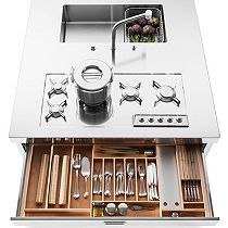 Alpes Inox | Around the oven | Pinterest | Stove and Kitchens