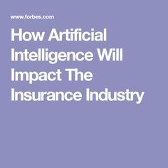 impact of technology on insurance industry