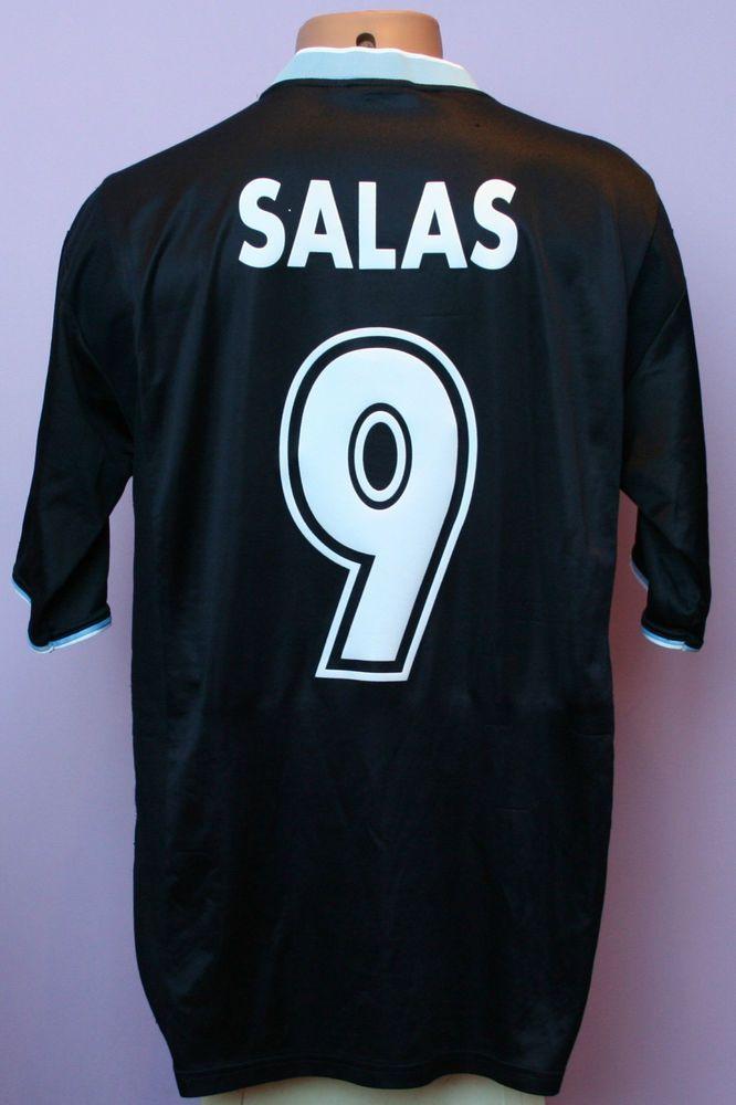 Marcelo salas   9 ss lazio 2000 2001 away siemens puma shirt size xl 24ff3a226
