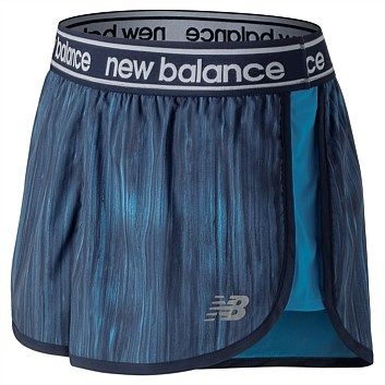 e5484e35060 Rebel Sport - New Balance Womens Printed Accelerate 2.5 Inch Short
