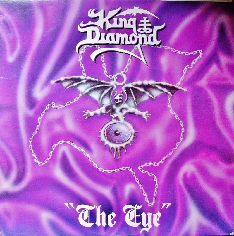 King Diamond The Eye On Limited Edition 180g Vinyl Lp With Images King Diamond Diamond Eyes Metal Albums