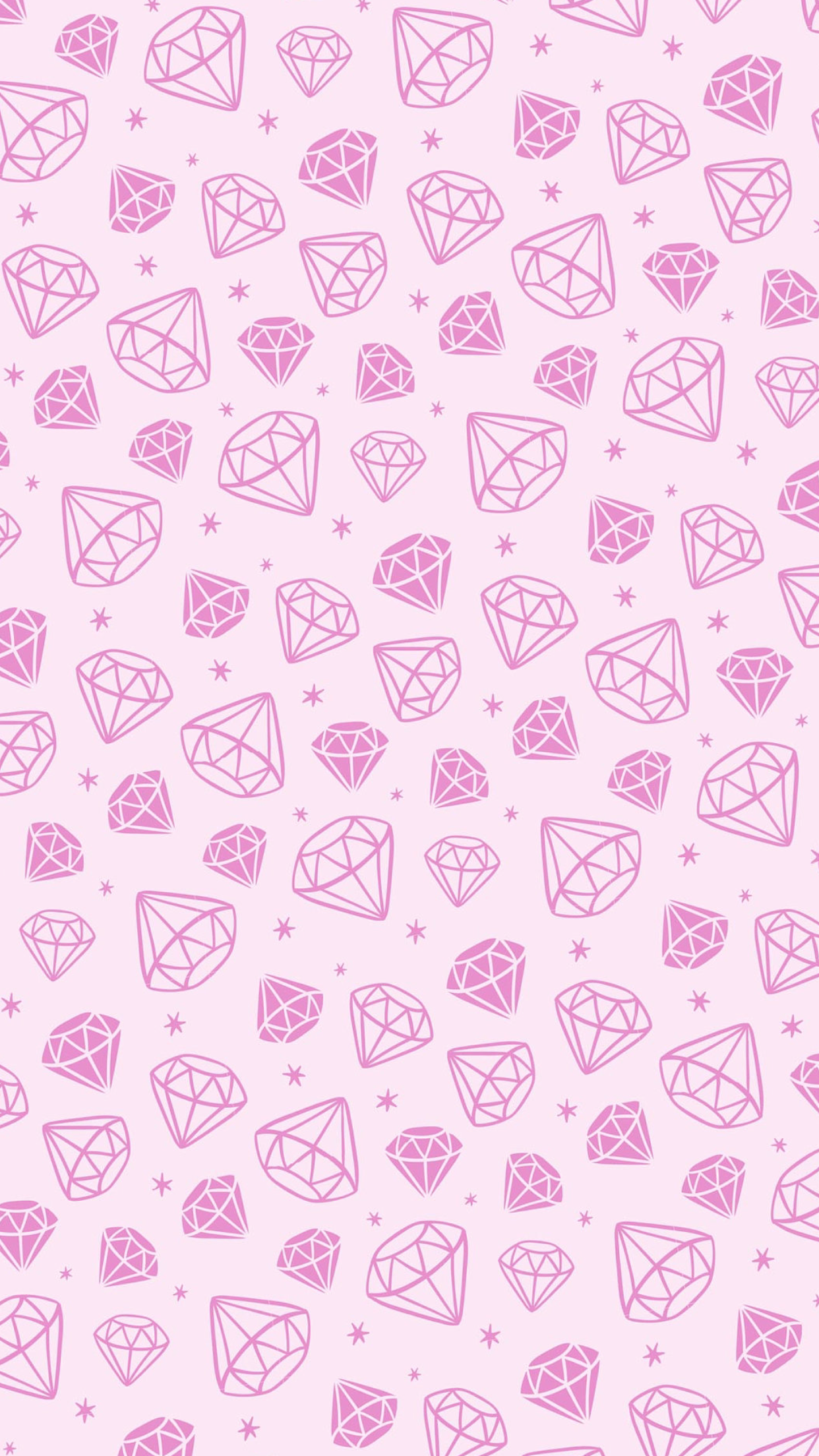 Light pink wallpaper diamonds carats svt fav - Light pink background tumblr ...