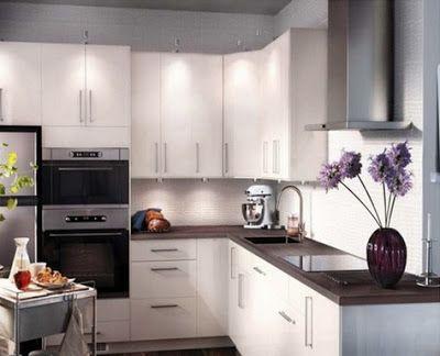 10 fotos de cocinas peque as en forma de ele ver - Cocinas pequenas en forma de ele ...