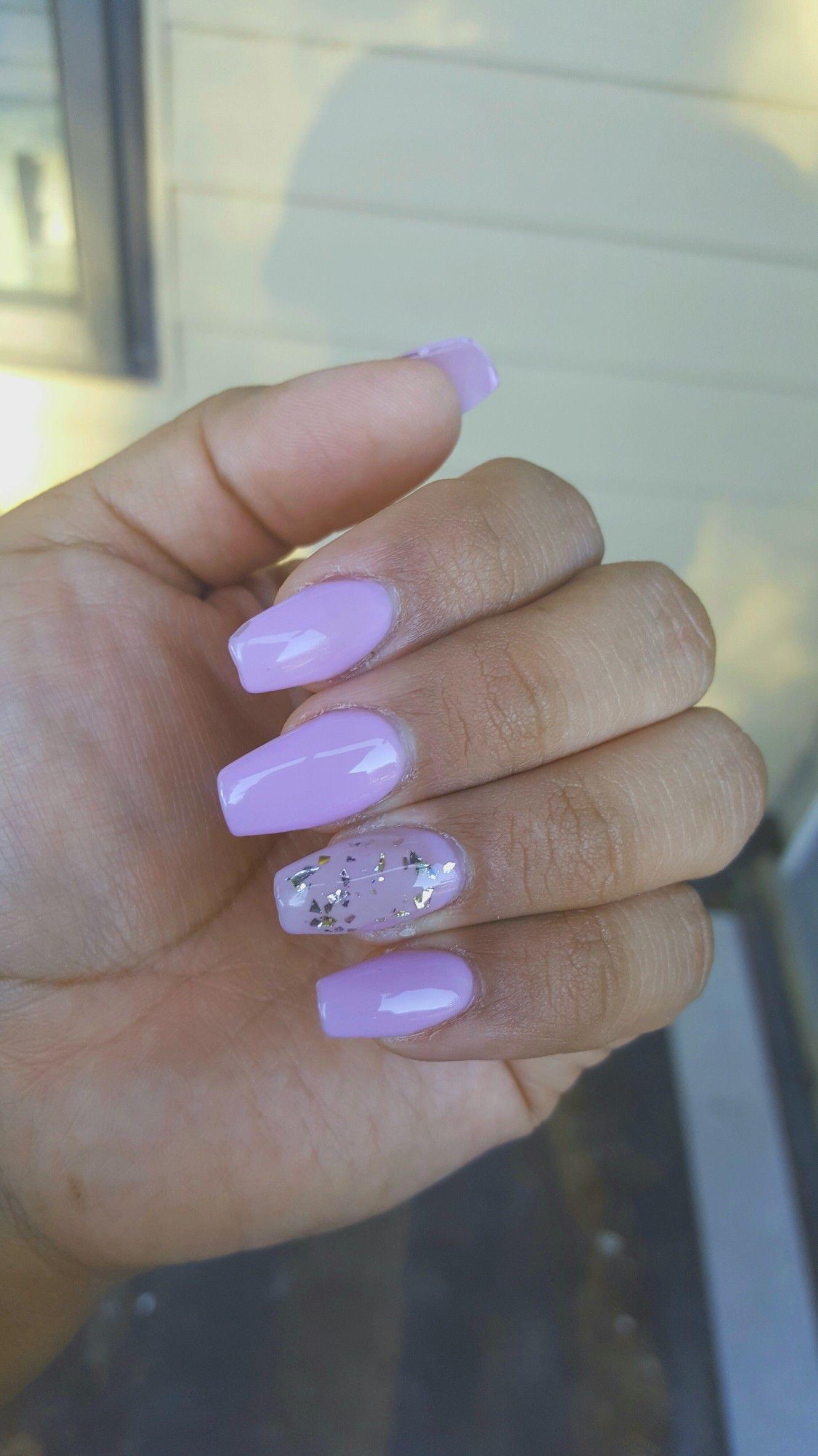 Lavender Nails Lavender Nails Purple Acrylic Nails Bright Acrylic Nails