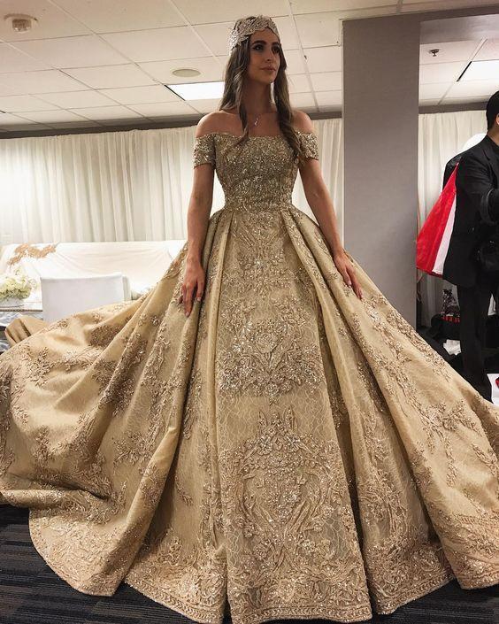 Vestidos De 15 Color Dorado Vestidos De Xv Años Fotos De