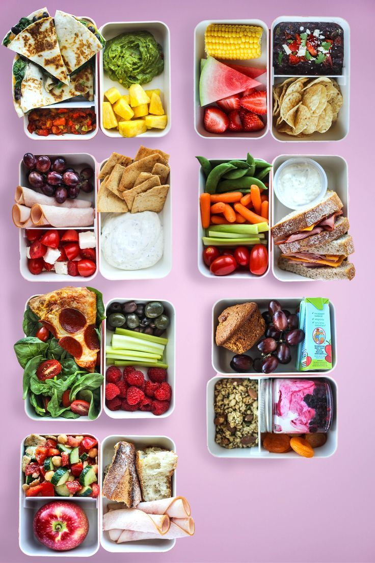 7 Lunches Made with Grocery Store Shortcuts