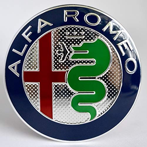 Emblem Badge For Alfa Romeo Front Or Back 147 156 159 166