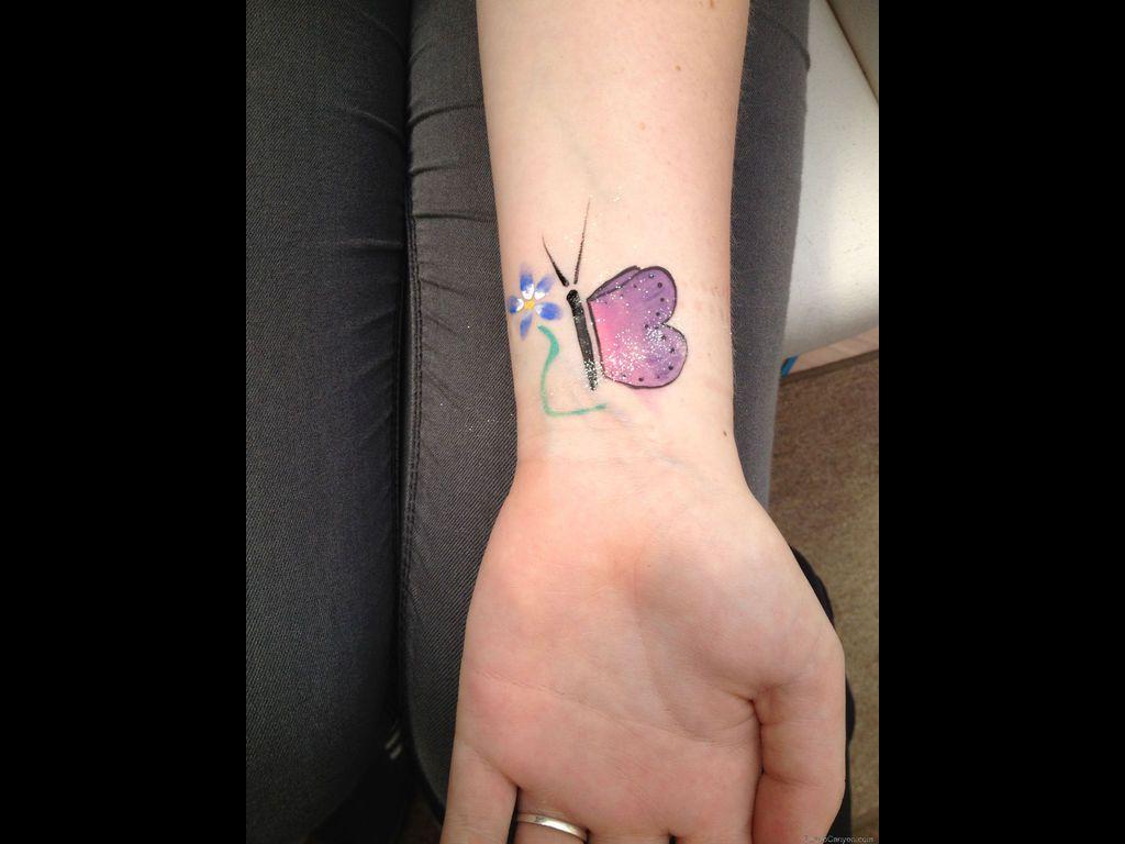Small tattoo ideas on wrist butterflytattoodesignswristsmalltattoostattoodesign