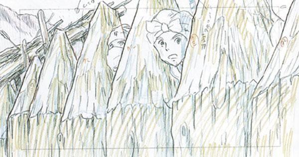 Princess Mononoke  StoryboardsStory Sketches  Layout