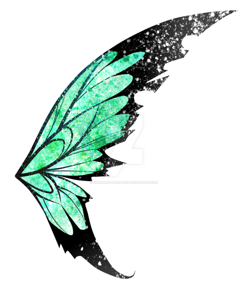 Green fairy wings png 36487 Free Icons and PNG
