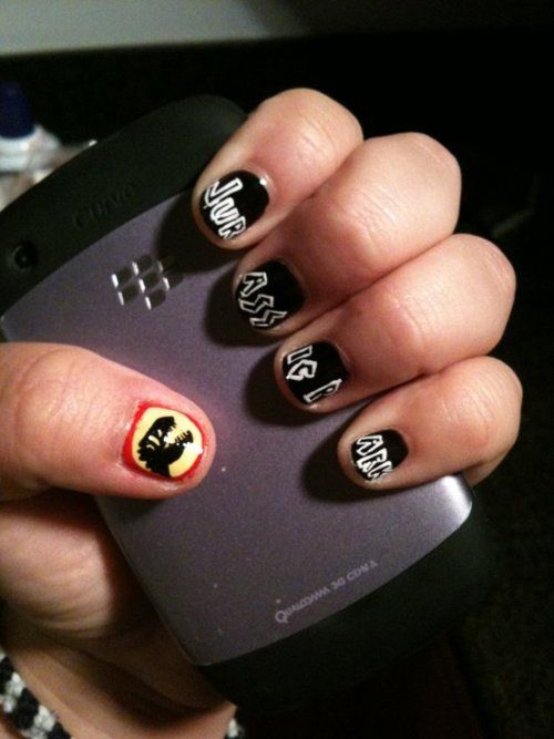Jurassic Park Nails | Holiday Nails & Special Events | Pinterest ...