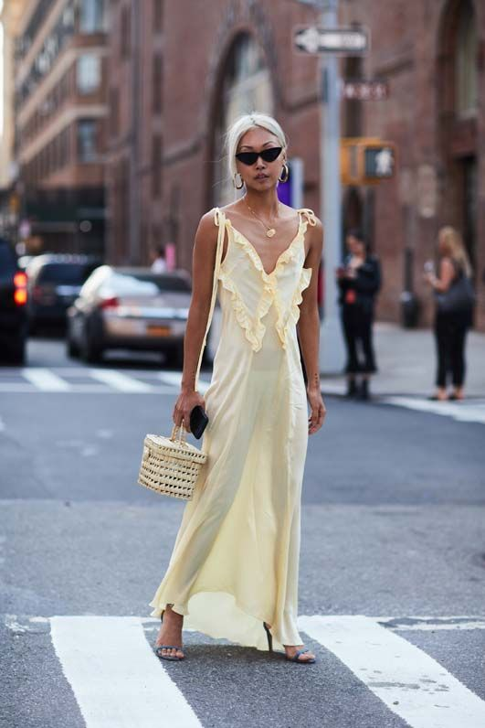 The Latest Street Style From New York Fashion Week Street styles - küchen im retro stil