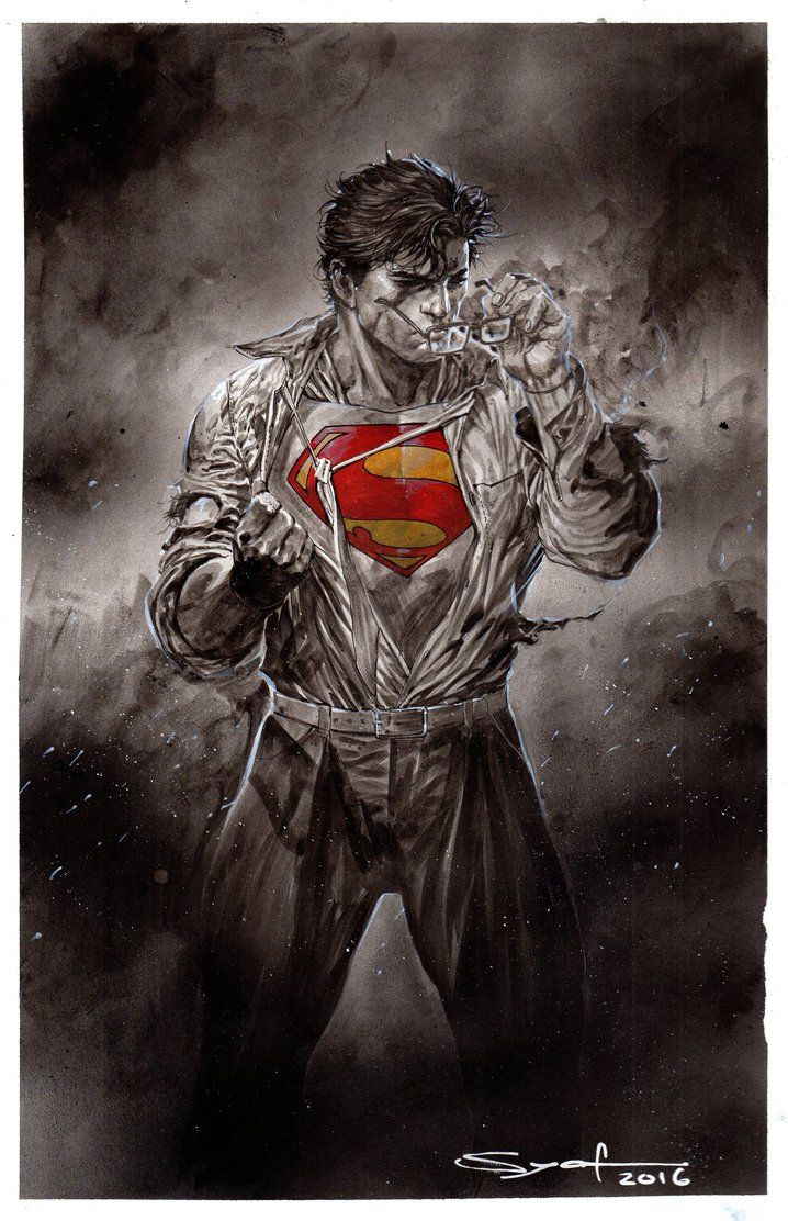 Dc fan arts 216 mes images batman superman et h ros - Superman et batman dessin anime ...