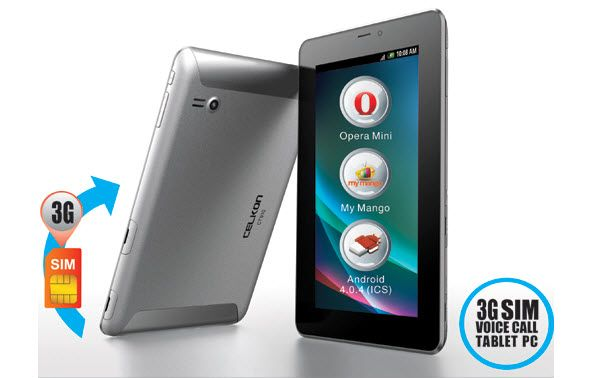 CELKON Mobiles has launched the 7 –inch tablet named as CELKON CT910. The first 3G tablet launched by CELKON that supports 3G connectivity. It has in-built GPS navigation.......