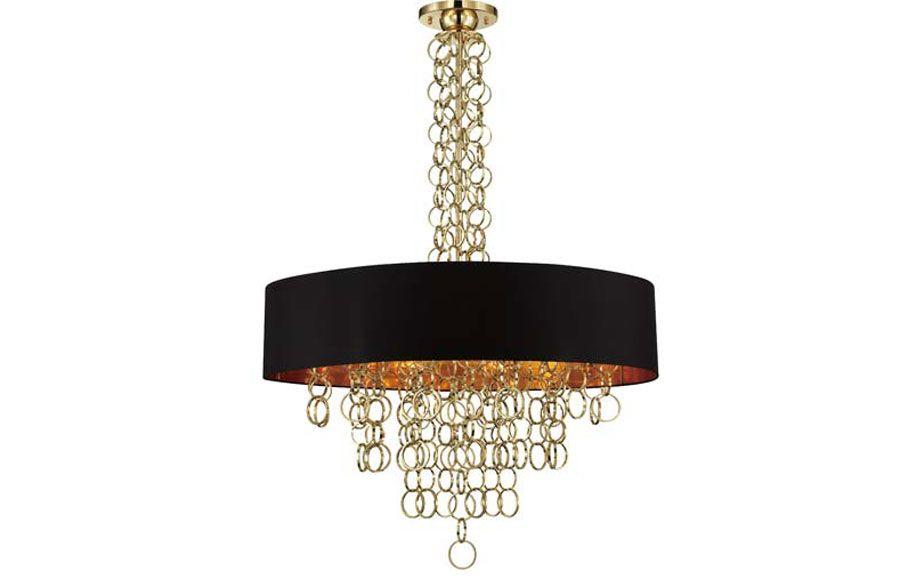 Eurofase 12 Light Gold Chain Chandelier Rc Furniture Drum Pendant Pendant Lighting Chandelier