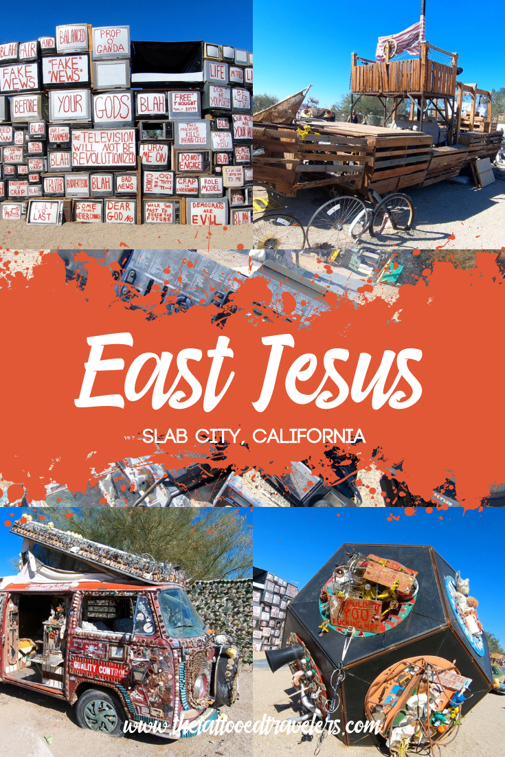 A Visit To East Jesus In California S Free Land Slab City Slab City Beach Road Trip Road Trip Fun