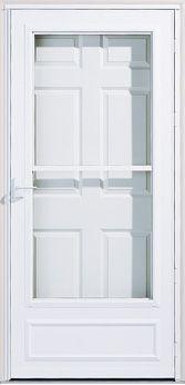 Storm Door Style Bottom Panel To Hide Packages Left Color Selection Needed Pella Storm Door Pella Doors