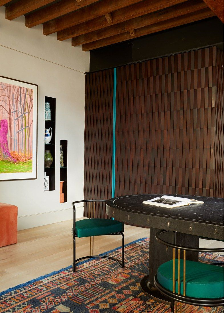 Dimore Studio Dining Chairs In The Home Of Anthony Sperduti Gieves Anderson