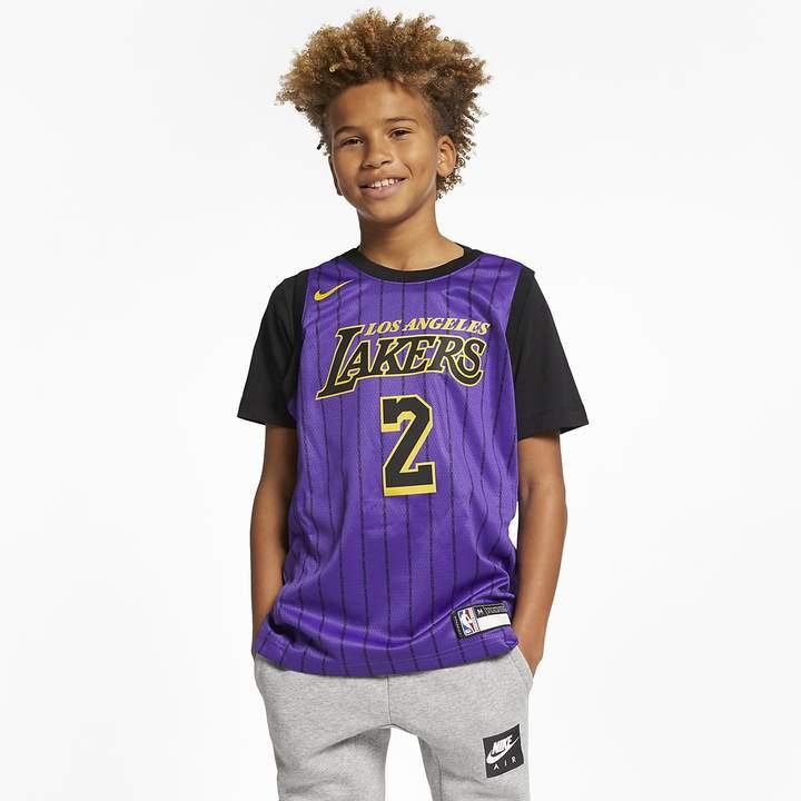 Nike Big Kids' NBA Jersey LeBron James City Edition Swingman (Los ...