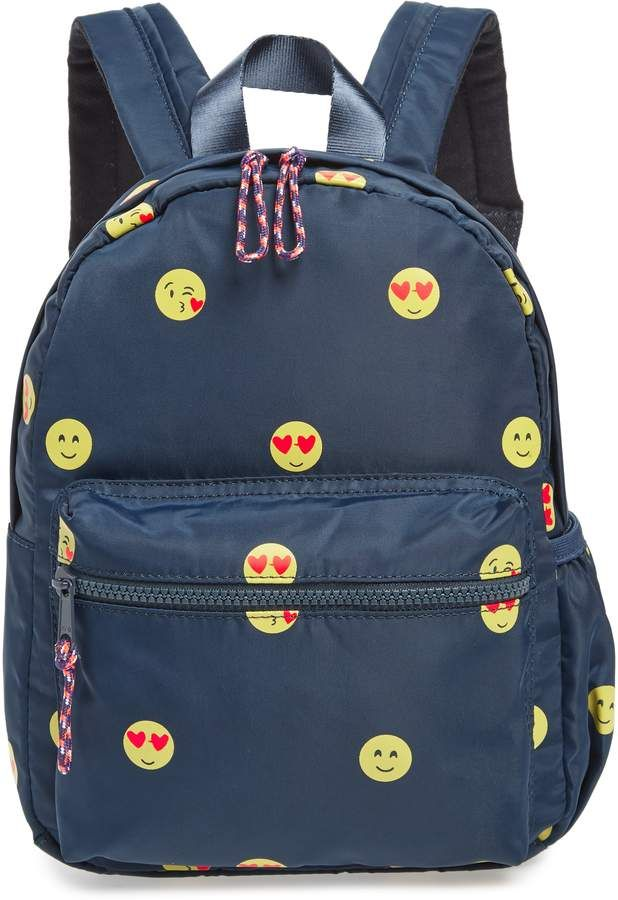 J.Crew crewcuts by Emoji Print Mini Backpack   Products   Pinterest ... e0c6036a35