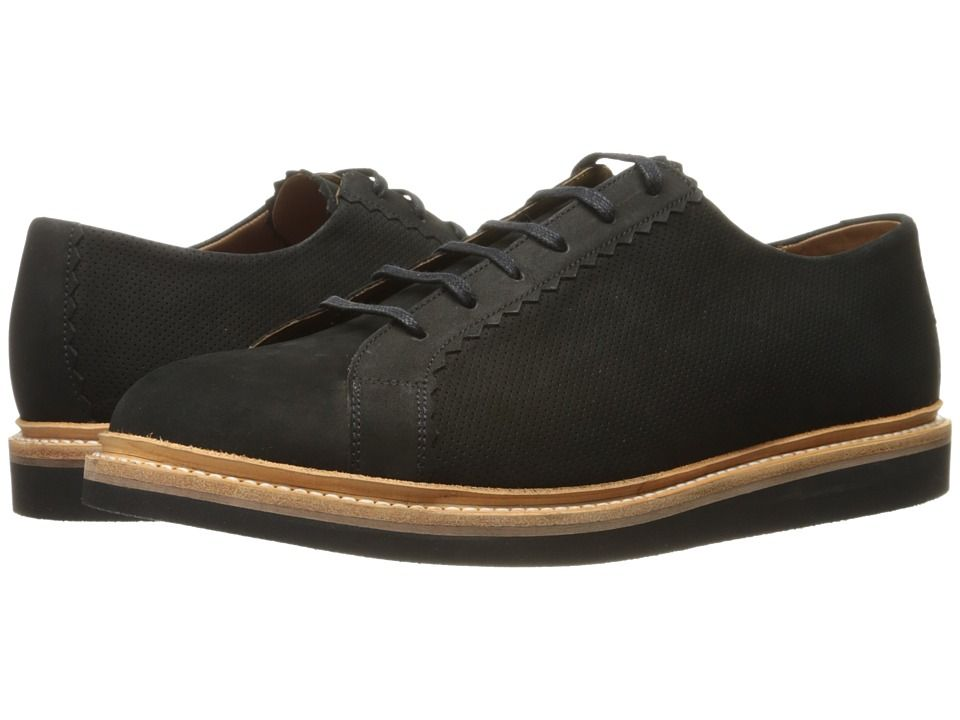 Grenson Ezra Black Nubuck Men
