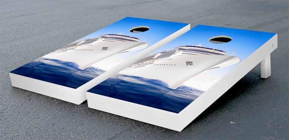 Cruise Ship Cornhole Game Set