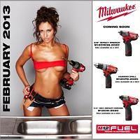 The Milwaukee Tool Calendar Milwaukee Tools Interesting