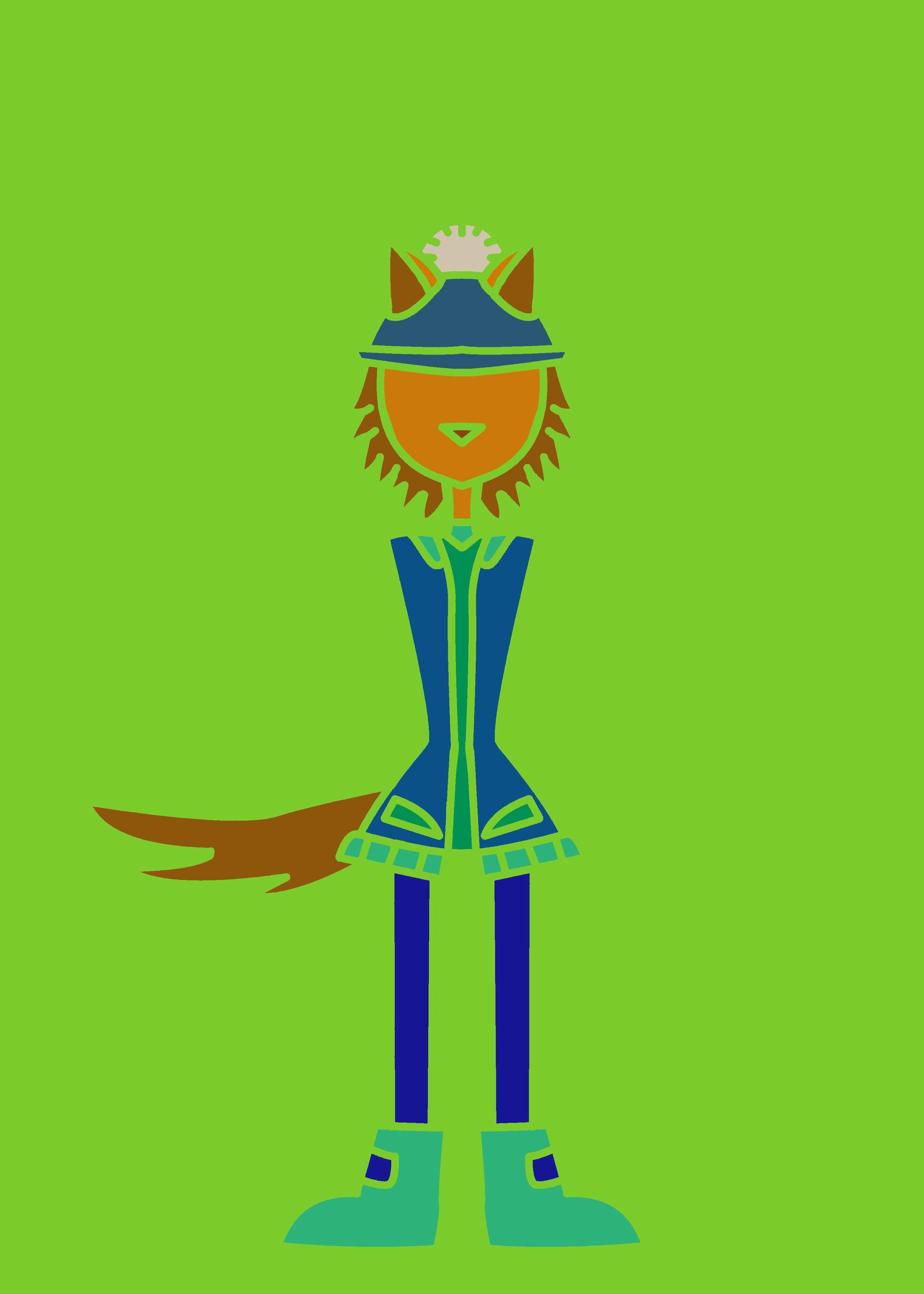 werewolf.Metallic frames with 25% off. | Displate thumbnail
