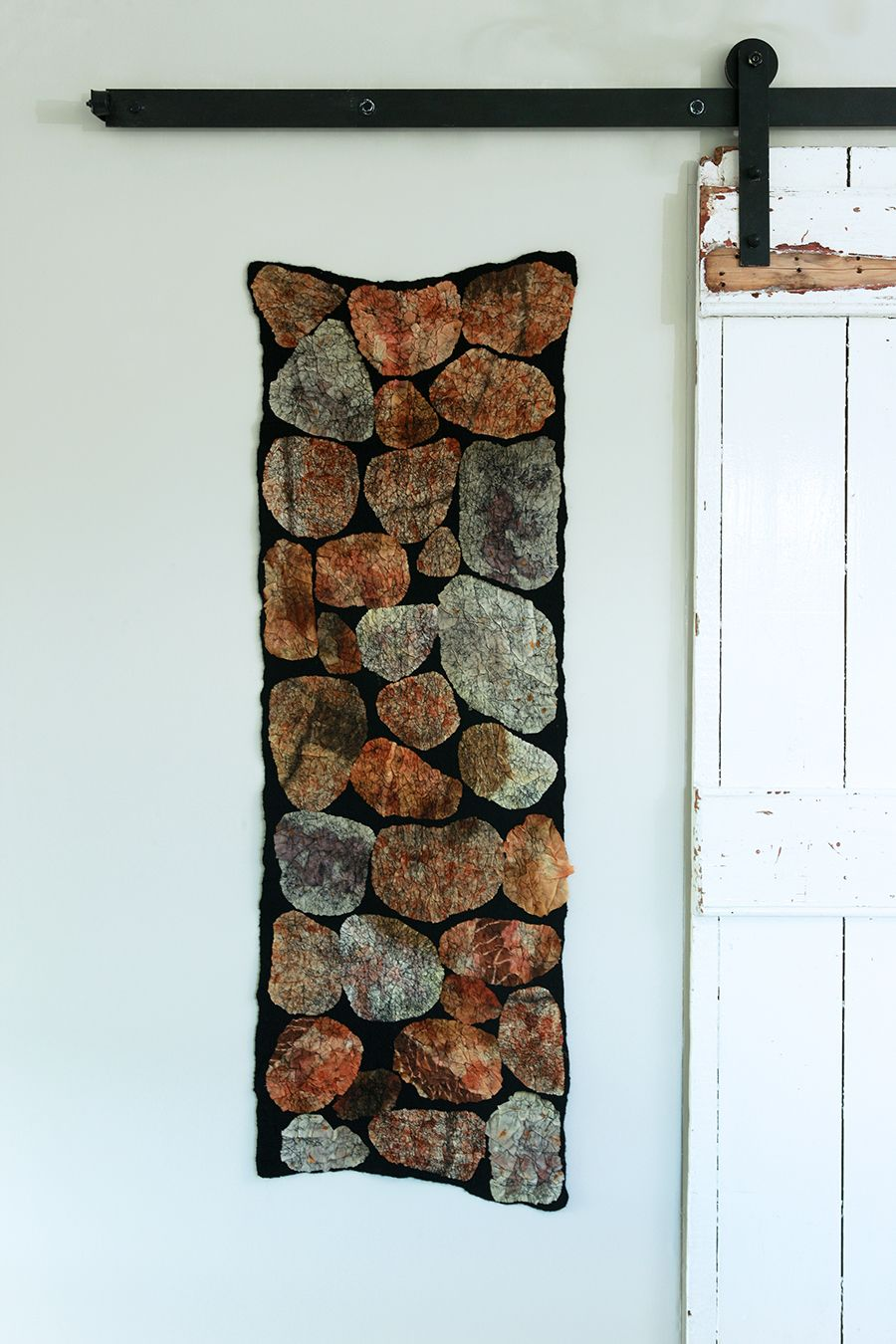 Form Photo Shoot And Exhibition News Fine Art Textiles Felt Wall Hanging Nuno Felting