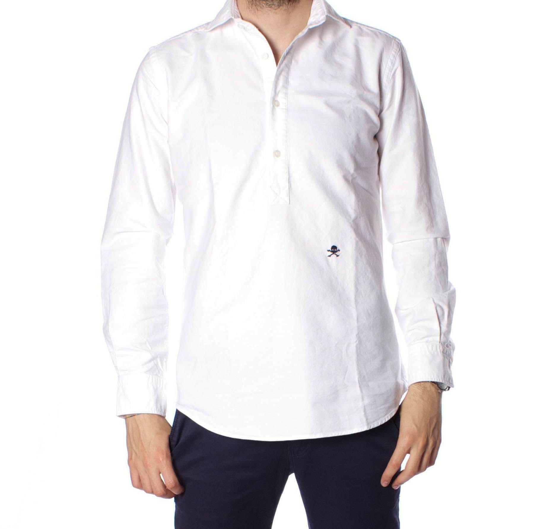 Scalpers Como Denim K Shirt Camisa Casual para Hombre