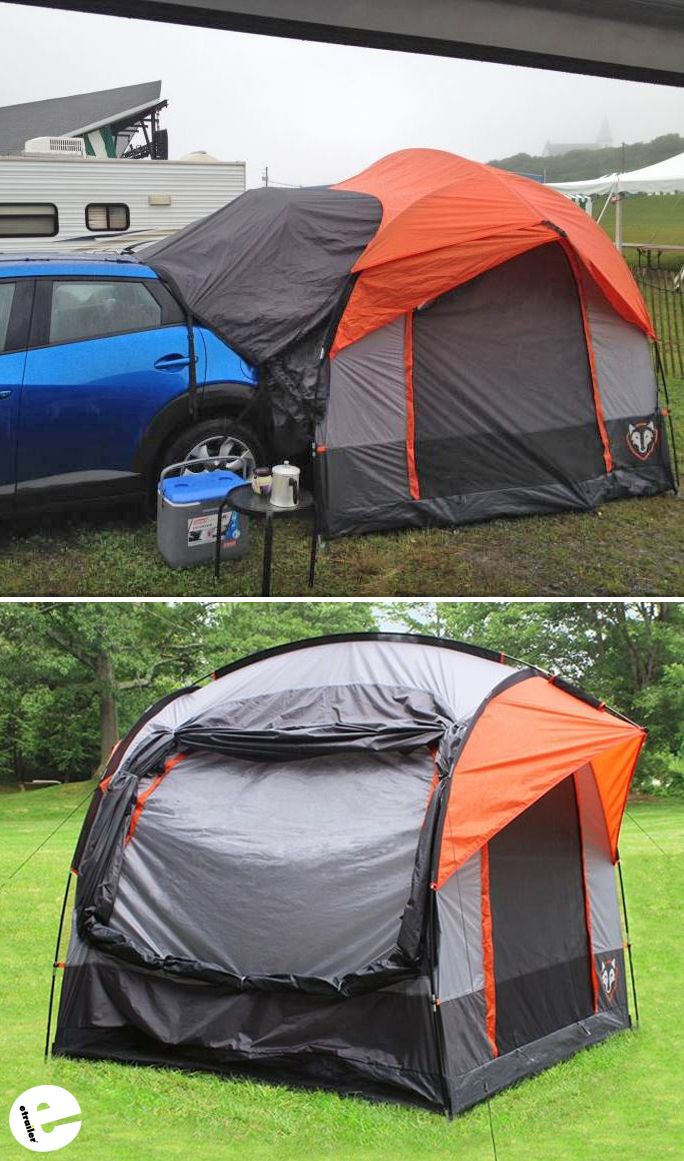 SUV tents are an economical alternative to a camper. The