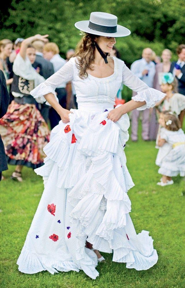 Miranda Brooks Vogue Wedding Dress - gorgeous