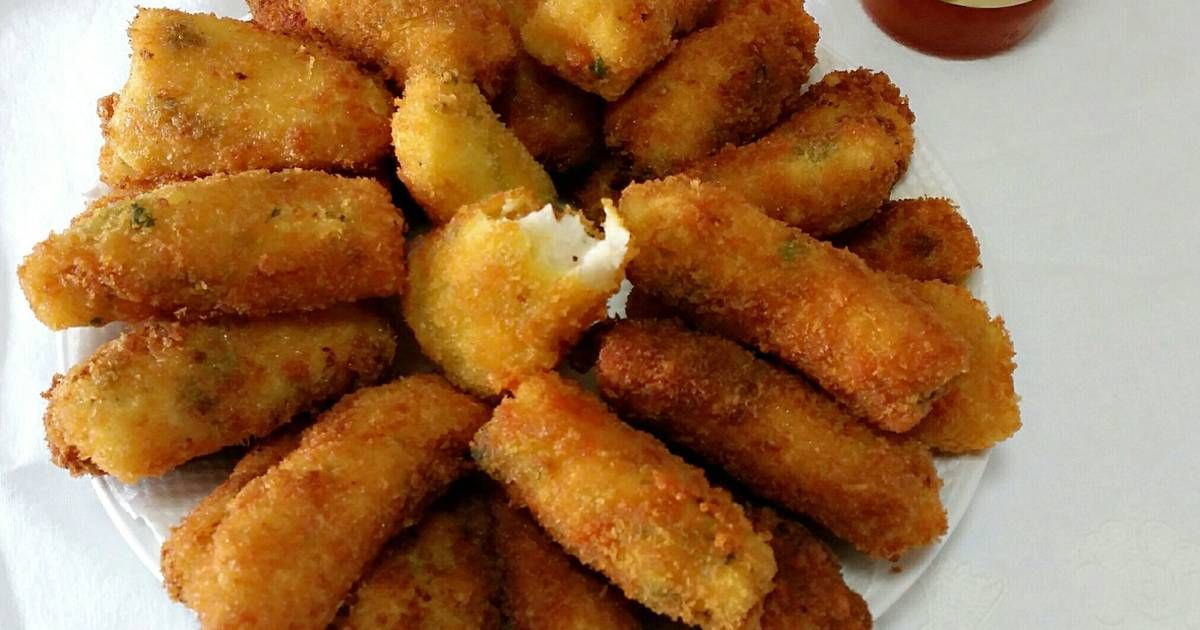 Resep Cheese Fish Fingers Oleh Nikmatul Rosidah Resep Resep Makanan Makanan Resep