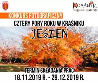 """Konkurs """"Cztery Pory Roku w Kraśniku Jesień"""" skierowany"""